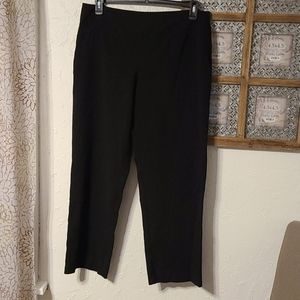 Roz & Ali black dress pants size 14 Petite